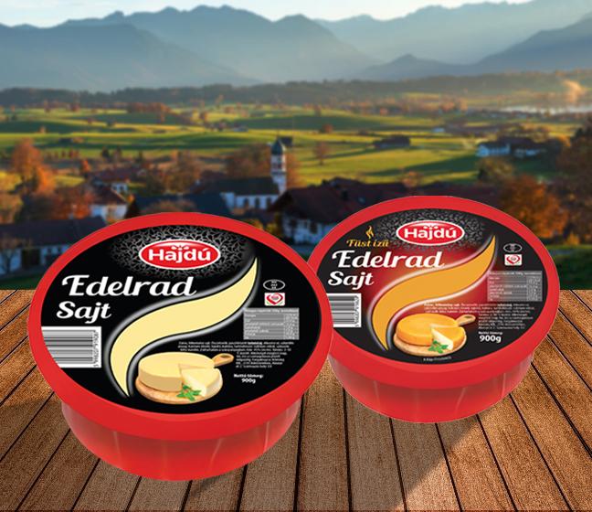 Hajdú Edelrad sajtok