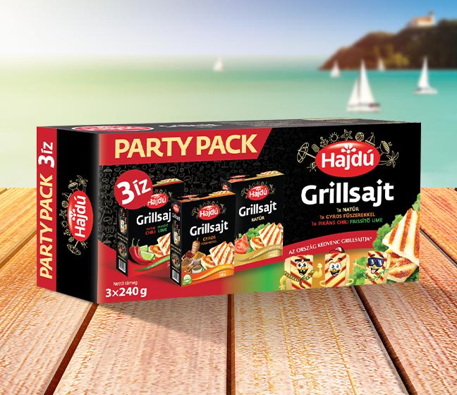 Hajdú Grillsajt - Party Pack