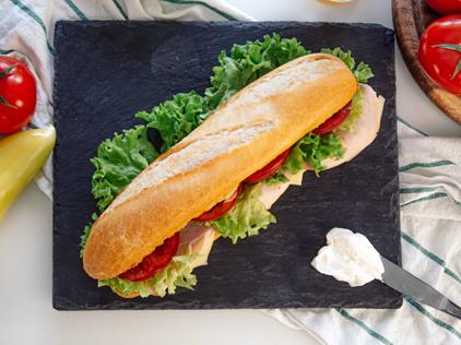 Labnita baguette szendvics